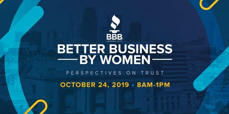 Better Business By Women 2019: Perspectives On Trust  tickets