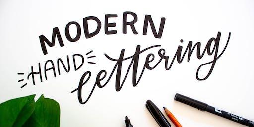 Modern Hand Lettering Workshop