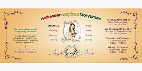Storytime with Anna-Christina - Halloween Inspired Storytimes! tickets