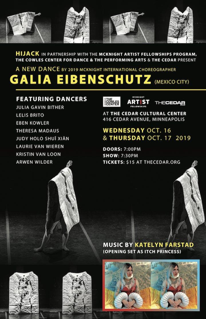 GALIA EIBENSCHUTZ with HIJACK & dancers with opening set by Itch Princess