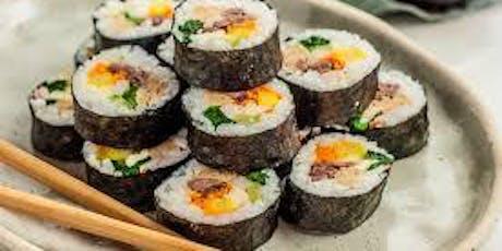 Sushi Class 101 BYOB tickets