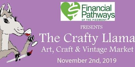 Crafty Llama Art,Craft and Vintage Market tickets
