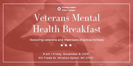 Veterans Mental Health Breakfast tickets