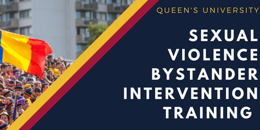 Sexual Violence Bystander Intervention Training - Open Session