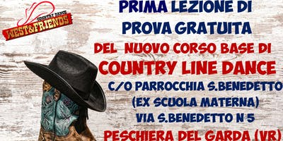 LEZIONE DI PROVA GRATUITA A PESCHIERA DEL GARDA (VR) -COUNTRY LINE DANCE