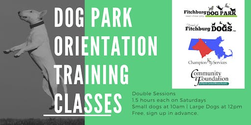 Large Dog Park Orientation Training Class