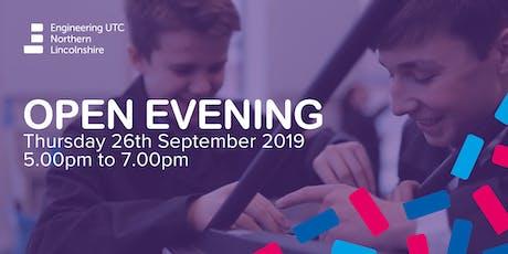 ENL UTC Open Evening tickets