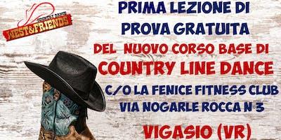 LEZIONE DI PROVA GRATUITA A VIGASIO (VR) - COUNTY LINE DANCE
