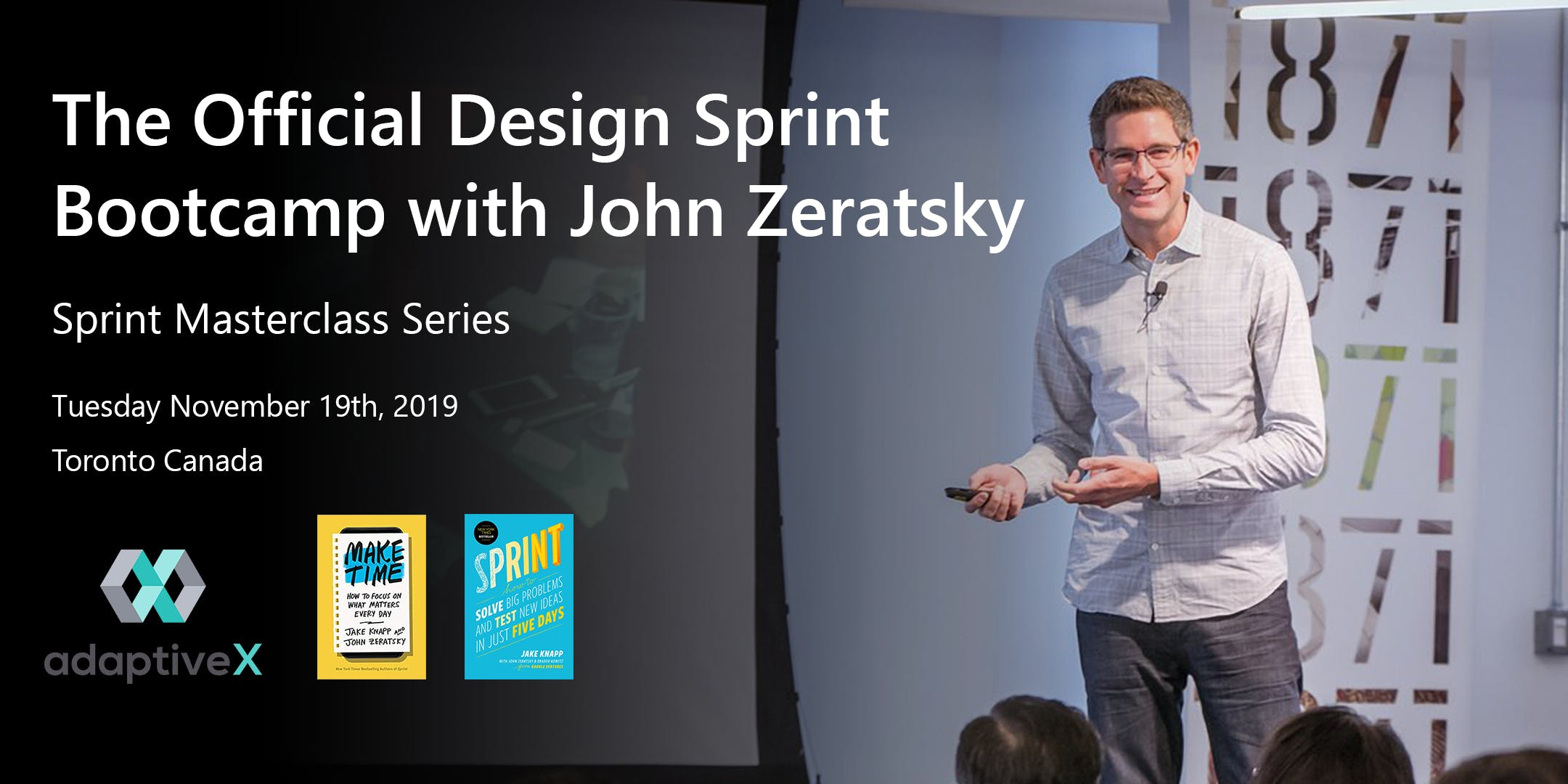 Official Design Sprint Bootcamp with John Zeratsky and AdaptiveX