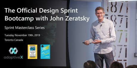 Official Design Sprint Bootcamp with John Zeratsky and AdaptiveX tickets