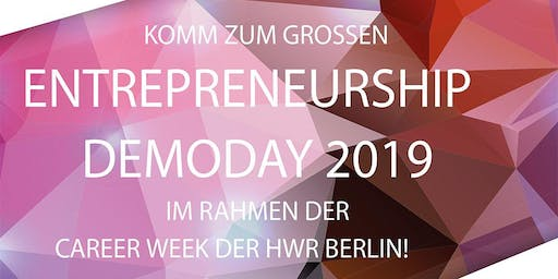 Entrepreneurship Demoday 2019