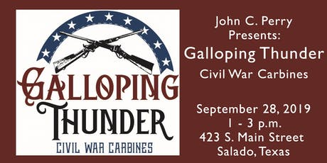Galloping Thunder - Civil War Weapons tickets