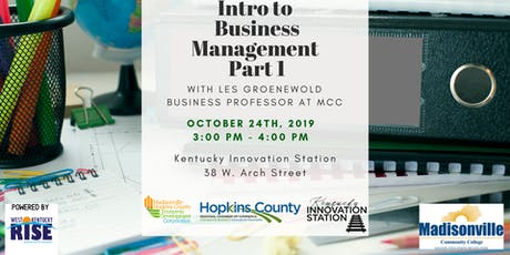 Intro to Business Management: Part 1 tickets