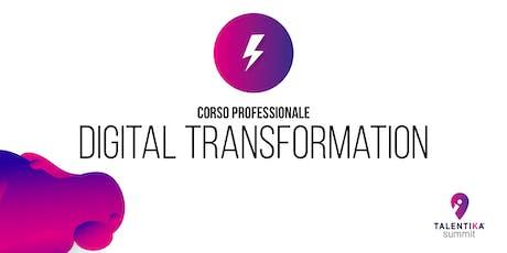 Corso professionale Digital Transformation biglietti