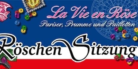 RÖSCHEN SITZUNG 2020 / La Vie en Röse - Pariser, Prumme und Pailletten Tickets