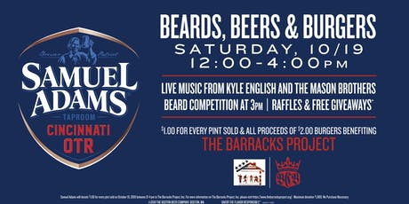 Beards, Beers & Burgers tickets