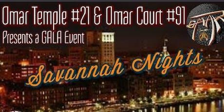 Savannah Nights Gala  tickets