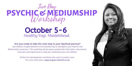 Two day Psychic & Mediumship Workshop tickets