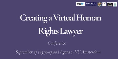 Creating a Virtual Human Rights Lawyer tickets