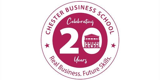 Chester Business School 20 Year Celebration