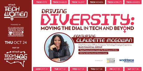 TECH WOMEN: Driving Diversity: Moving the Dial in Tech and Beyond tickets
