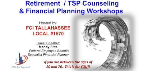 TSP/Retirement Counseling Workshop & LegalShield Workshop