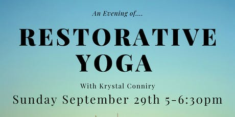 An Evening of Restorative Yoga tickets