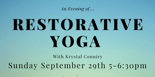 An Evening of Restorative Yoga