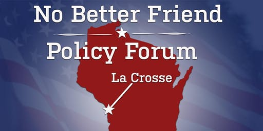 No Better Friend Corp. October Forum (La Crosse)