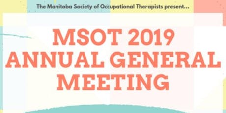 MSOT Annual General Meeting tickets