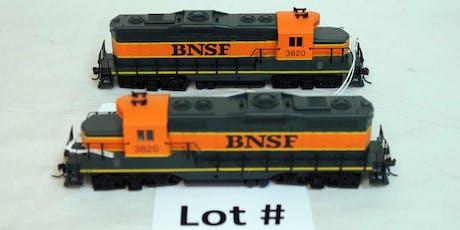 Model Train Auction HO, HO Brass, O & O27 tickets