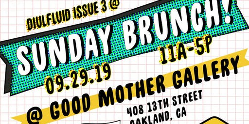 DIULFLUID ISSUE 3 RELEASE @ SUNDAY BRUNCH