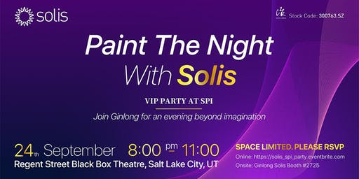 Paint the Night with Solis   Invitation Only Event