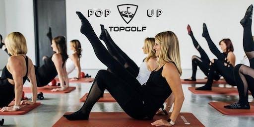 Pure Barre Pop Up Class @ Top Golf Roseville