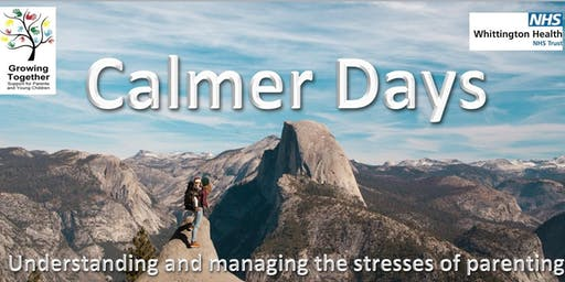 Calmer Days: understanding and managing the stresses of parenting