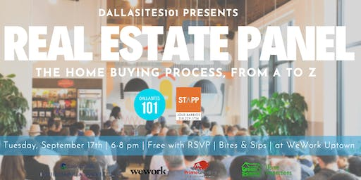 Real Estate Panel: Homebuying Process, From A to Z