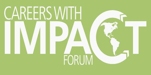 2019 Careers With Impact Forum