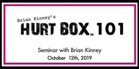 Hurt Box 101 Seminar tickets
