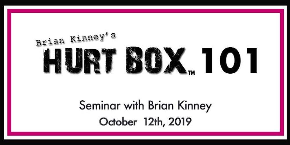 Hurt Box 101 Seminar Tickets, Sat, Oct 12, 2019 at 10:00 AM