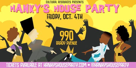 Hanky's House Party tickets