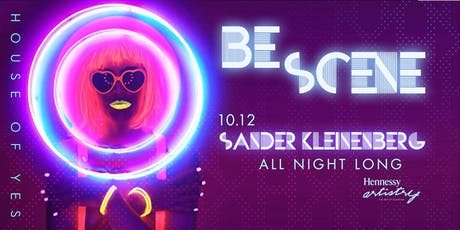 BE/SCENE with Sander Kleinenberg tickets