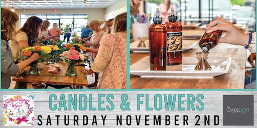 Candles & Flowers- SOLD OUT