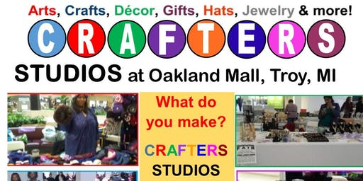CRAFTERS Studio at Oakland Mall (sp)