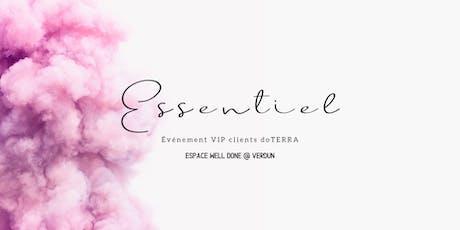 ESSENTIEL - Evénement VIP clients doTERRA billets