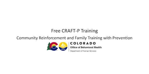 Pueblo CRAFT Training 9/26-27: No cost