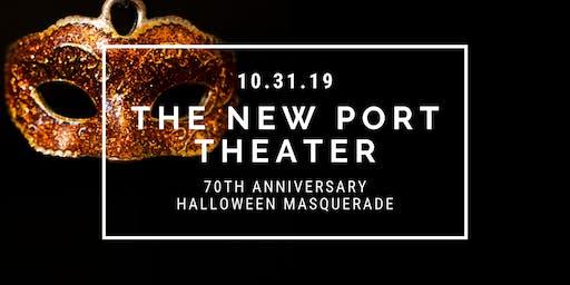 The New Port Theater 70th Anniversary Halloween Masquerade