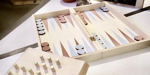 DIY-Workshop:  Spielbretter gestalten