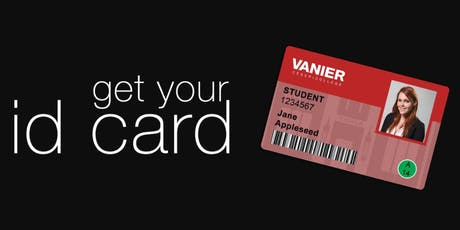 Vanier College New Student ID Card Printing tickets