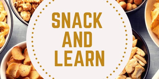 Snack and Learn  - Marketing your event