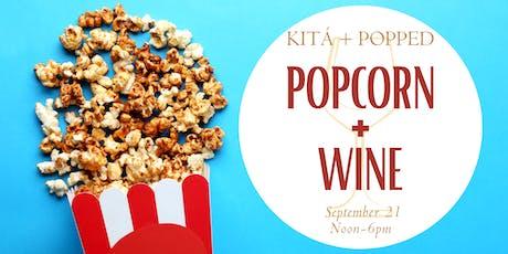 Kitá's Popcorn & Wine Experience tickets